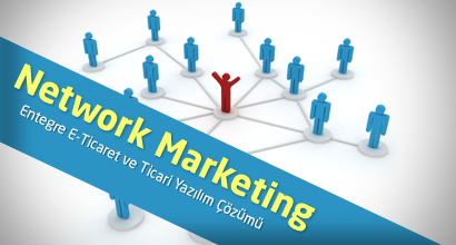 Network Marketing Entegre E-Ticaret ve Ticari Yaz�l�m ��z�m�