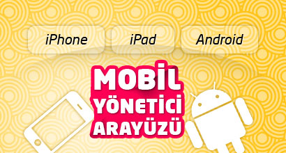 IPhone IPad Android Mobil Y�netici Aray�z�