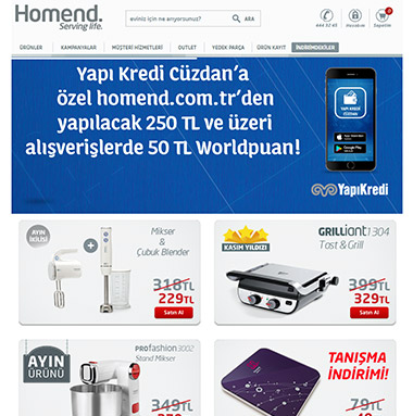 Homend Websitesi