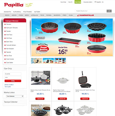 Papilla Websitesi